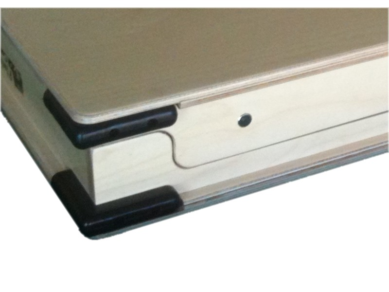 Corner Bumpers Protect Joined Boards